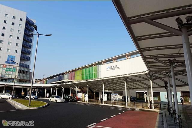 JR奈良駅(プレミアムドリーム11号で東京から奈良へ 新幹線より便利な夜行バスの旅)
