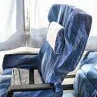 青を基調としたシート
