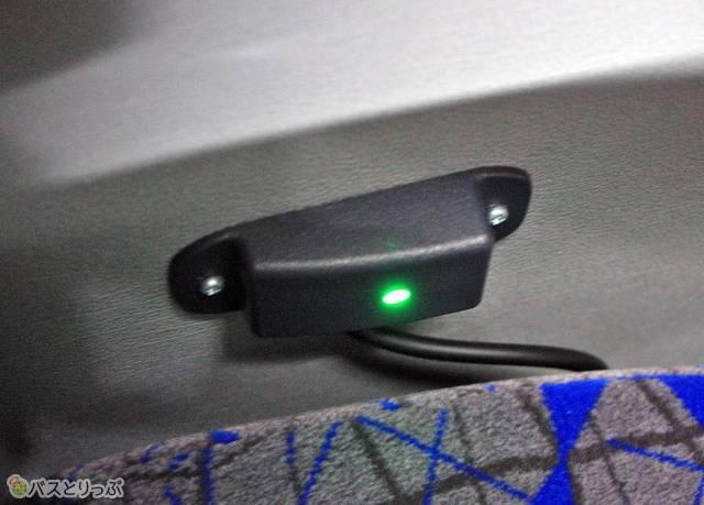充電用USBポートも完備