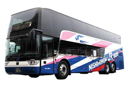 西日本JRバス 京阪神~東京「青春昼特急号」「青春エコドリーム号」で新型2階建てバスの追加運行を9/24から開始