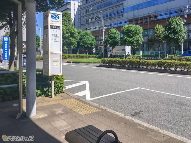 バス停の様子