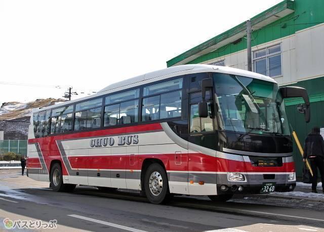 北海道中央バス「高速むろらん号」