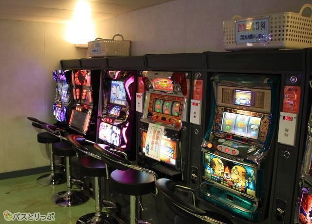 Aデッキ(6階)のゲームコーナー