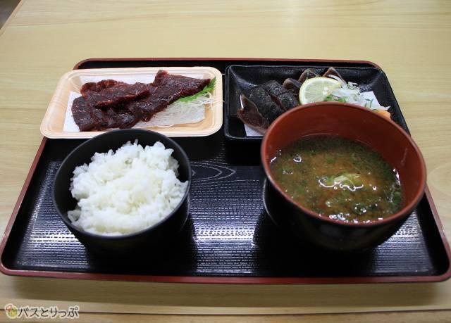 フードコーナーで食したお昼ご飯