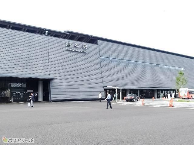 JR熊本駅へもアクセス便利!