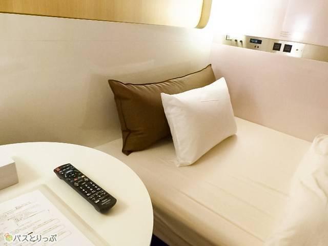 個室とほぼ変わらないゆとりのある空間で過ごすことができる