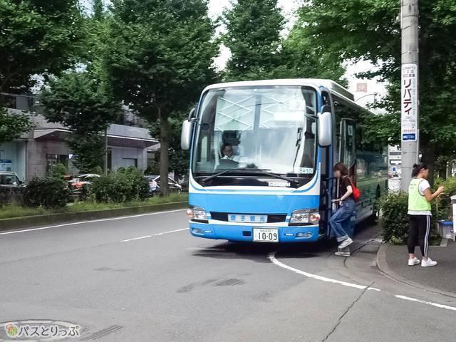 仙台駅からのシャトルバス