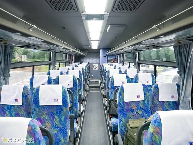 行きのバスと同じバスで帰ります