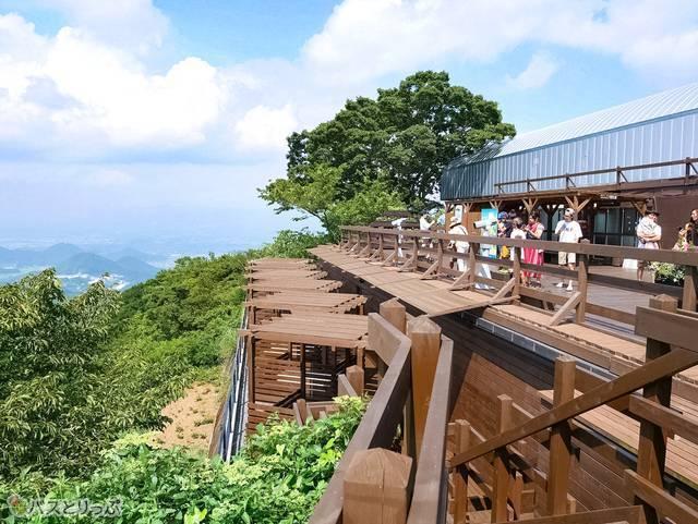 富士見テラスでパノラマ絶景に感動