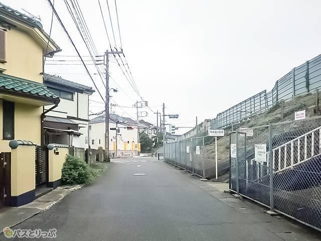 下り中央道八王子バス停