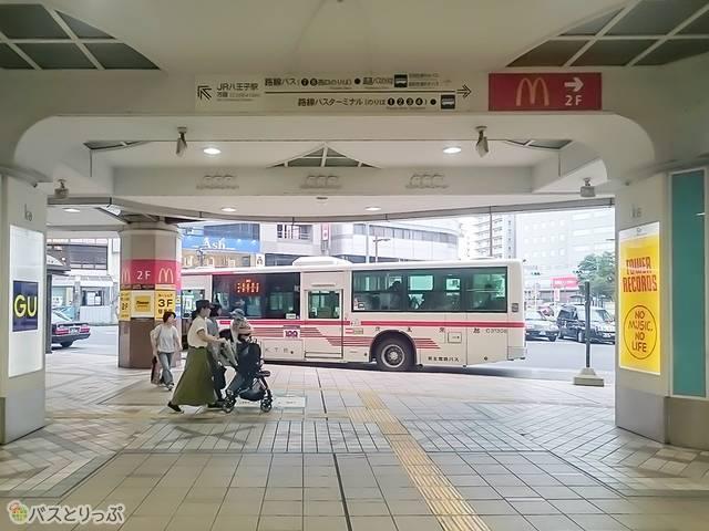 京王八王子駅ロータリー