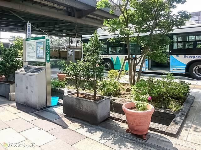 甲府駅北口喫煙所