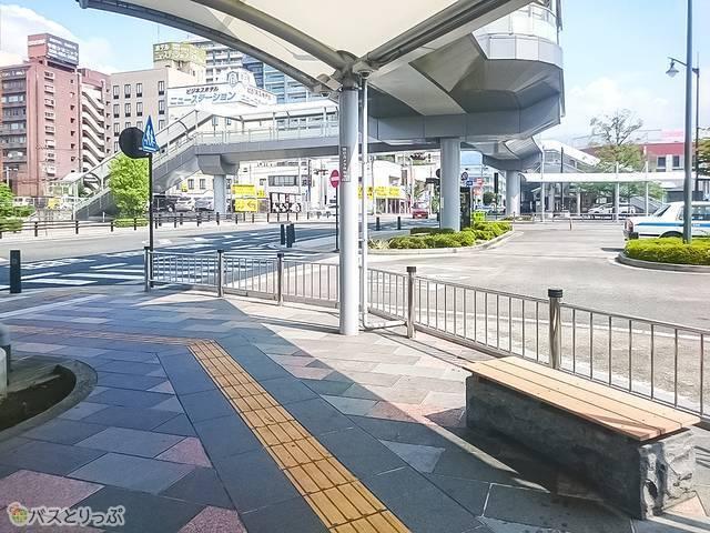 甲府駅北口ロータリー