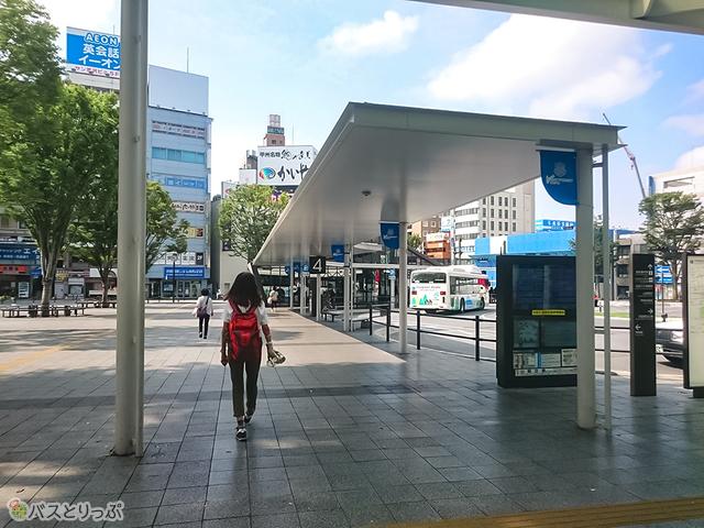 甲府駅南口ロータリー