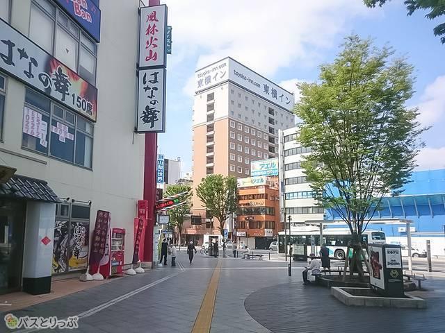 甲府駅南口東横イン