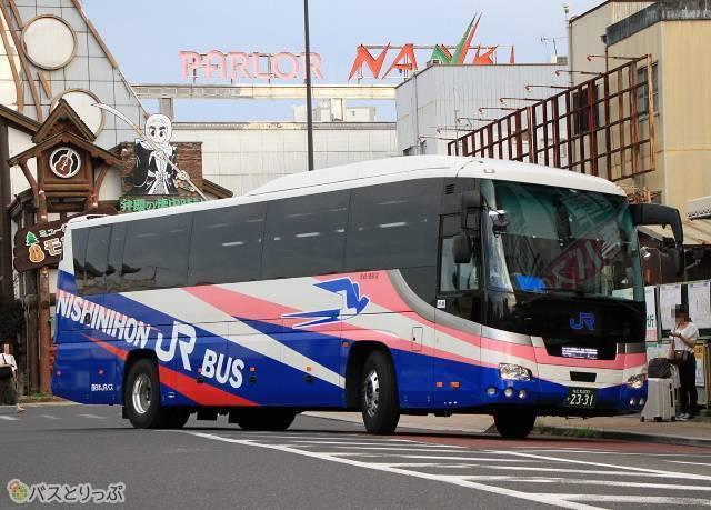 大阪~白浜間の高速バス「白浜エクスプレス大阪号」(西日本JRバス)