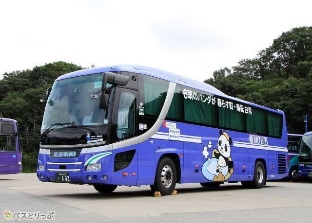 首都圏~白浜間の夜行高速バス「ホワイトビーチシャトル」(明光バス)