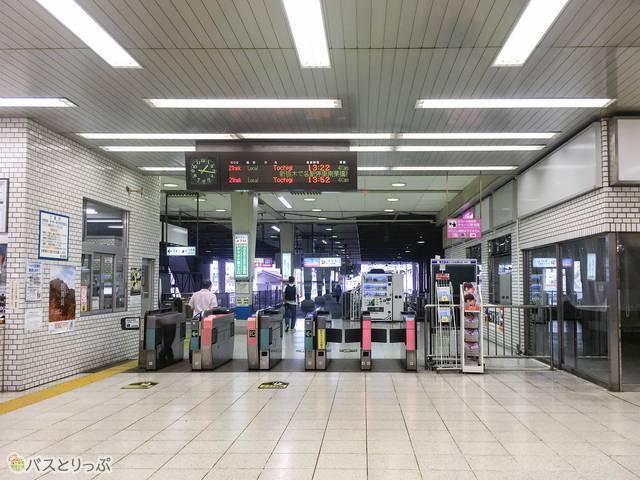 東武宇都宮駅の様子