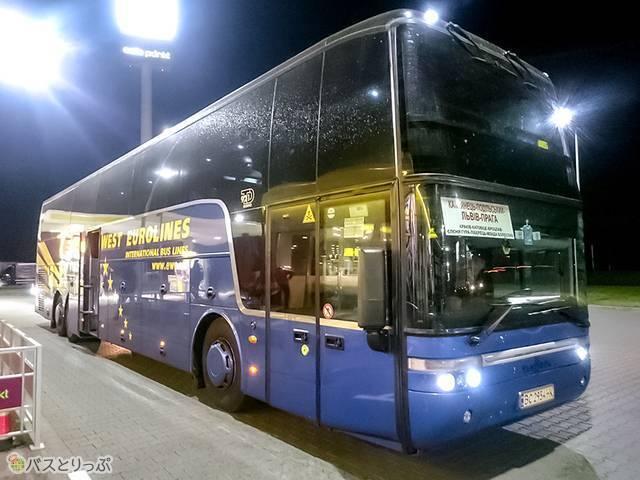 East-West Eurolinesバス車両外観