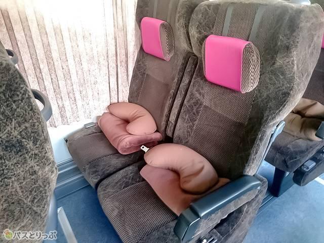 中日本ツアーバス車両シート