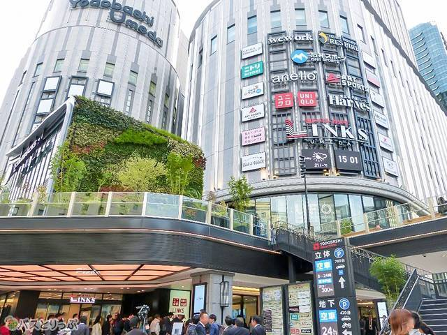 「LINKS UMEDA」には日本初・関西初店舗もたくさん!