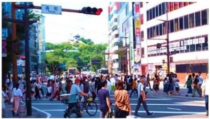 2019年9月14日の熊本市内 銀座通り付近の様子.jpg