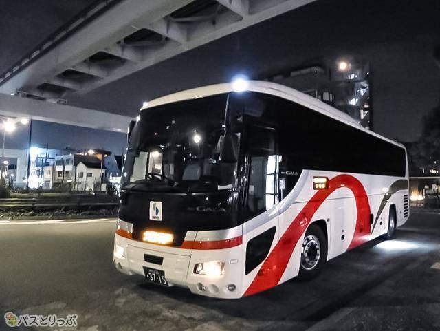 山陽バス「レッツ号」車体外観