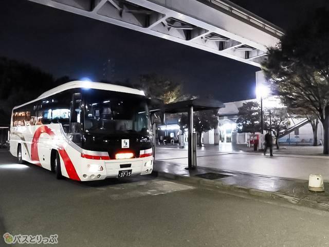 玉川上水駅から乗車