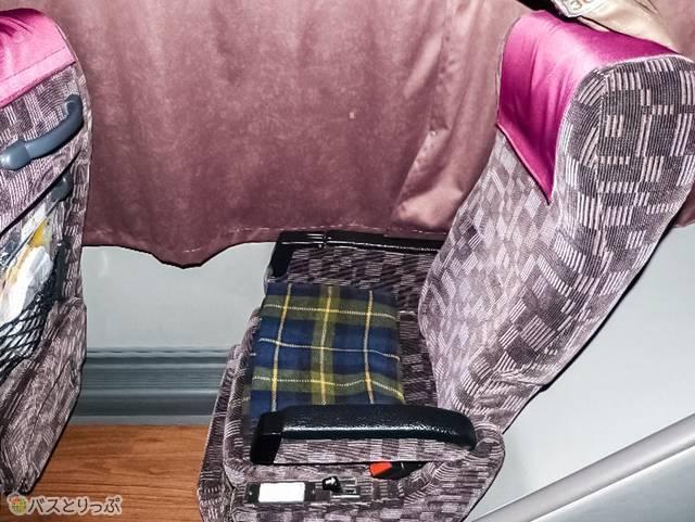 通常時座席はこんな風