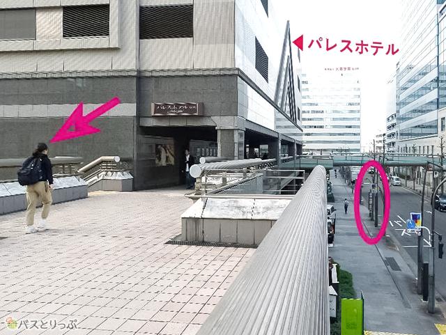 立川駅2Fロータリーからそのまま歩いてこられる