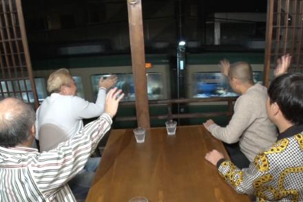 12/7放送 「タカトシ温水の路線バスで!」まさかの江ノ電を見ながら究極の炭火焼き魚定食