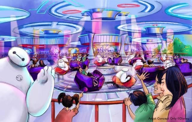 「ベイマックスのハッピーライド」(c)Disney