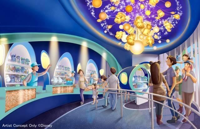 「ビッグポップ」の内観(c)Disney