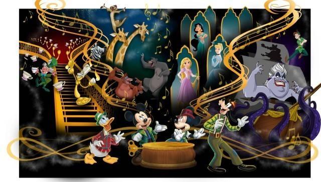 「ミッキーのマジカルミュージックワールド」(c)Disney