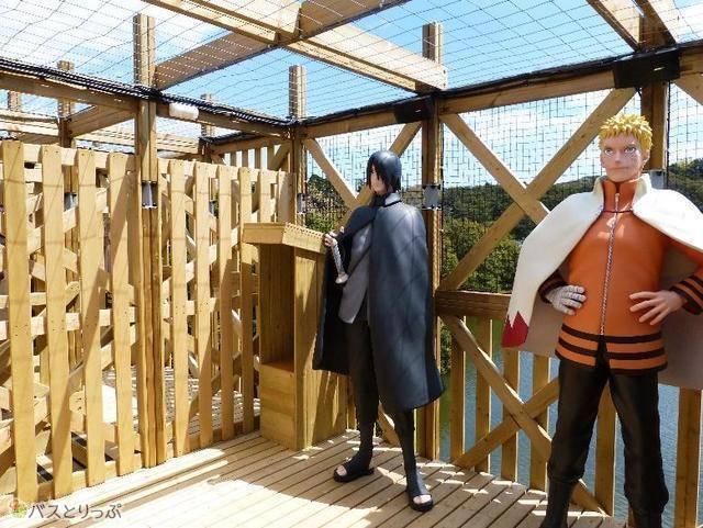 「NARUTO&BORUTO 忍里(SHINOBI-ZATO)」ではNARUTOのアトラクションが楽しめる