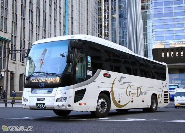 西日本JRバス「グランドリーム」車