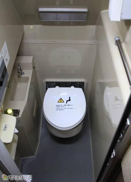 もちろんトイレも完備