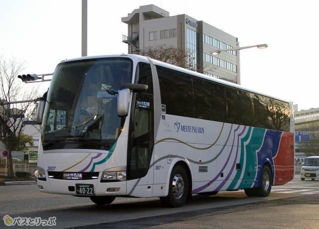 名鉄バス「どんたく号」