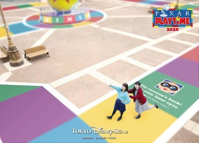フォトサービス(ウォーターフロントパーク)(c)Disney/Pixar