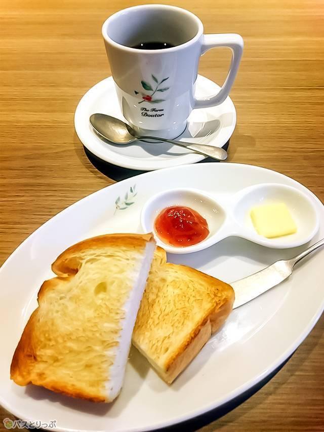 コーヒー&トースト