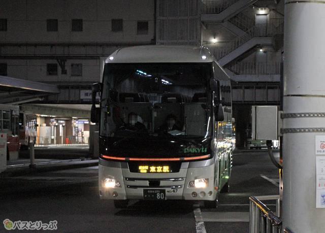 東京行き「ニューブリーズ号」が入線