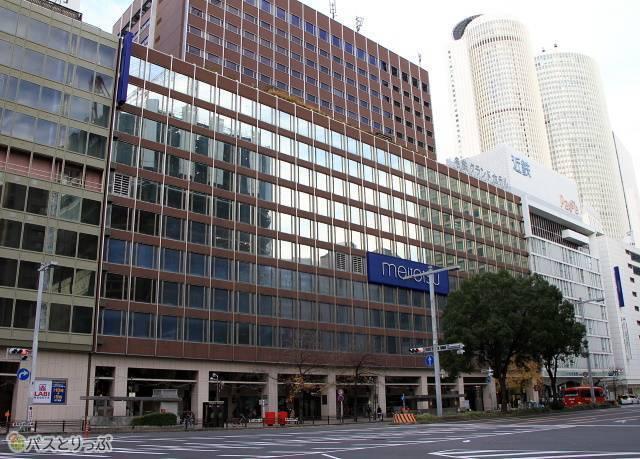 名鉄名古屋駅に直結する名鉄バスセンター