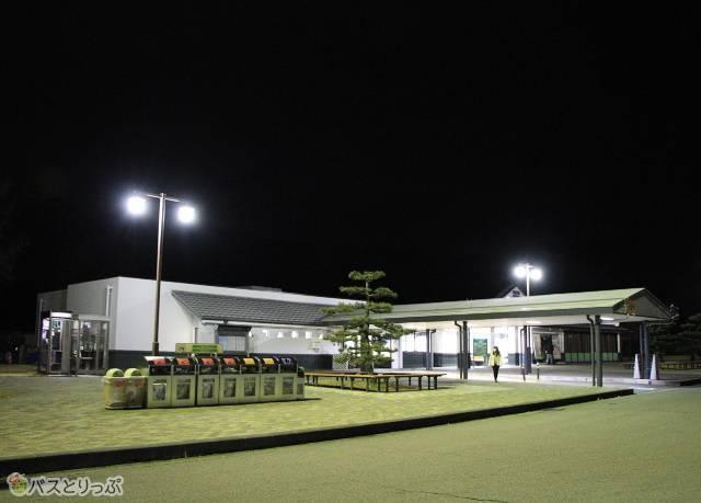 上信越自動車道 松代パーキングエリア
