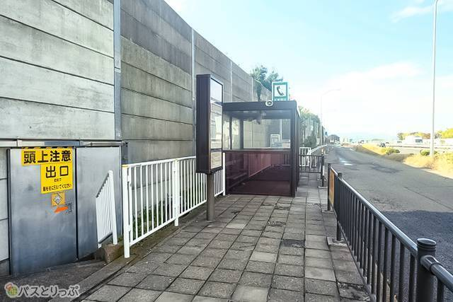 川越的場 高速バス乗り場