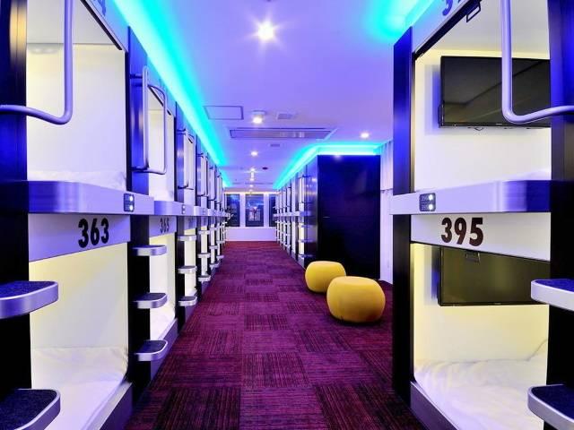 スパ&カプセルホテル グランパーク・イン横浜 キャビン