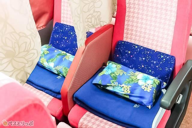 隣座席とはきっちり区間が分かれていて安心