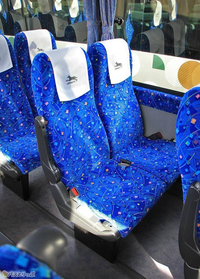 採用されているシートはいたってシンプル