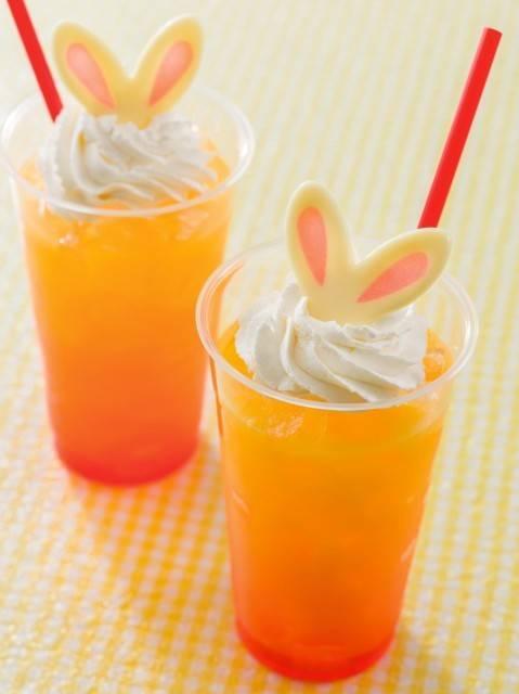 ホライズンベイ・レストラン スペシャルドリンク (オレンジ&クリーム))450円