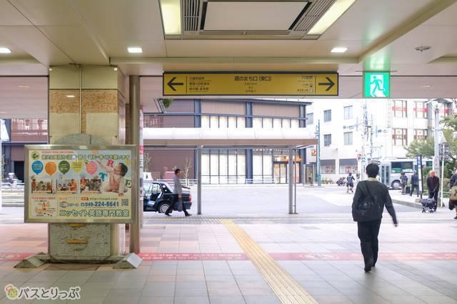 西武新宿線本川越駅