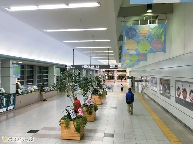 JR豊橋駅構内